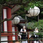 Takekiri-eshiki ( bamboo cutting ritual ) ( Kyoto )