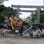 Whaleship Event of Toride Shrine ( Yokkaichi )